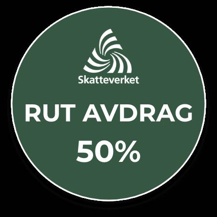 Trädfällning i Halland med RUT-avdrag